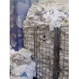 Double Cage Trolley and Contents of Good Quality T