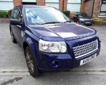 Land Rover Freelander 2 HSE TD4, registration number AU10 0WD, first registered 8 March 2010, odomet