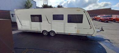 Buccaneer Clipper Caravan, 2012, Vin SGET000 EXBBUC5116, owner info pack present. (Located