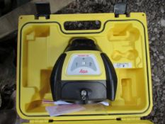 Leica Rugby 50 one-button land levelling laser.