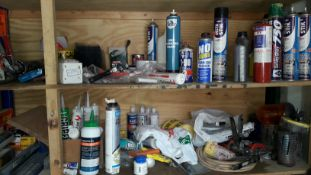 Small Quantity of Part Used Adhesives, Lubricants, Sealants etc. (Located at 30-36 Fisherton Street,