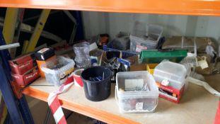 Various Nails, Screws, Raw plugs etc. (Located at 30-36 Fisherton Street, Salisbury, SP2 7TL)