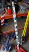 Telescopic Measuring Stick. (Located at 30-36 Fisherton Street, Salisbury, SP2 7TL)