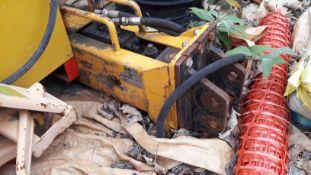Hydraulic Mini Excavator Breaker (Requires Service) (Located at 30-36 Fisherton Street, Salisbury,