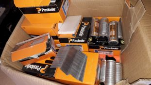 Small Quantity of Paslode Nails and Gas Fuel Cells. (Located at 30-36 Fisherton Street, Salisbury,