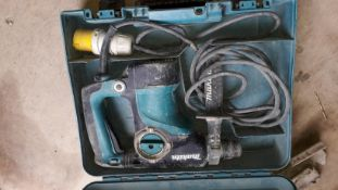 Makita HR2811F SDS-Plus Rotary Hammer 110v (2015) Serial Number D211643. (Located at 30-36 Fisherton
