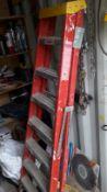 2 Prudee 8 Tread Fibreglass Stepladders. (Located at 30-36 Fisherton Street, Salisbury, SP2 7TL)