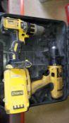 2 Cordless DeWalt Drills. (Located at 30-36 Fisherton Street, Salisbury, SP2 7TL)