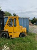 Caterpillar V Series diesel forklift truck (working order but untested - model details to follow).