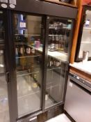 Gamko MG2/500 SD Upright Sliding Door Display Chiller (2017) (missing handle), Located at 14