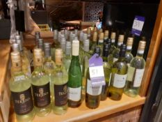 39 Various Bottles of White Wine, Located at 14 Leicester Square, London WC2H 7NG