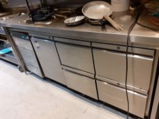 Foster Eco Pro G2 Four Drawer & Single Door Under Counter Refrigerator, Located at 14 Leicester