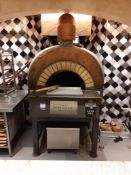 MAM Firedome Gas Fired Pizza Oven (Disconnection by Qualified Tradesperson required), Located at