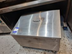 Stainless Steel Storage Container with Lid, 700 x 550mm, Located at 14 Leicester Square, London WC2H