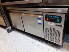 Frenox Stainless Steel Double Door Low Refrigerator, Located at 14 Leicester Square, London WC2H