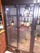Gamko MG2/500 SD Upright Sliding Door Display Chiller (2017), Located at 14 Leicester Square, London