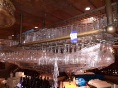 Glassware to above Bar Shelving, Located at 14 Leicester Square, London WC2H 7NG