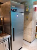 Foster Extra XR600H Stainless Steel Upright Refrigerator (2017), Located at 14 Leicester Square,