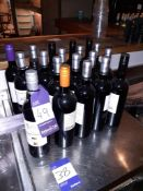 20 Bottles of Various Red Wine, Located at 14 Leicester Square, London WC2H 7NG