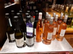 9 Bottles of Prosecco & 8 Bottles of Rose Wine, Located at 14 Leicester Square, London WC2H 7NG