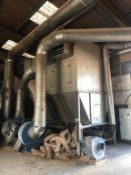 A Fully Operational High Capacity Chain Filter Dust Extraction Plant