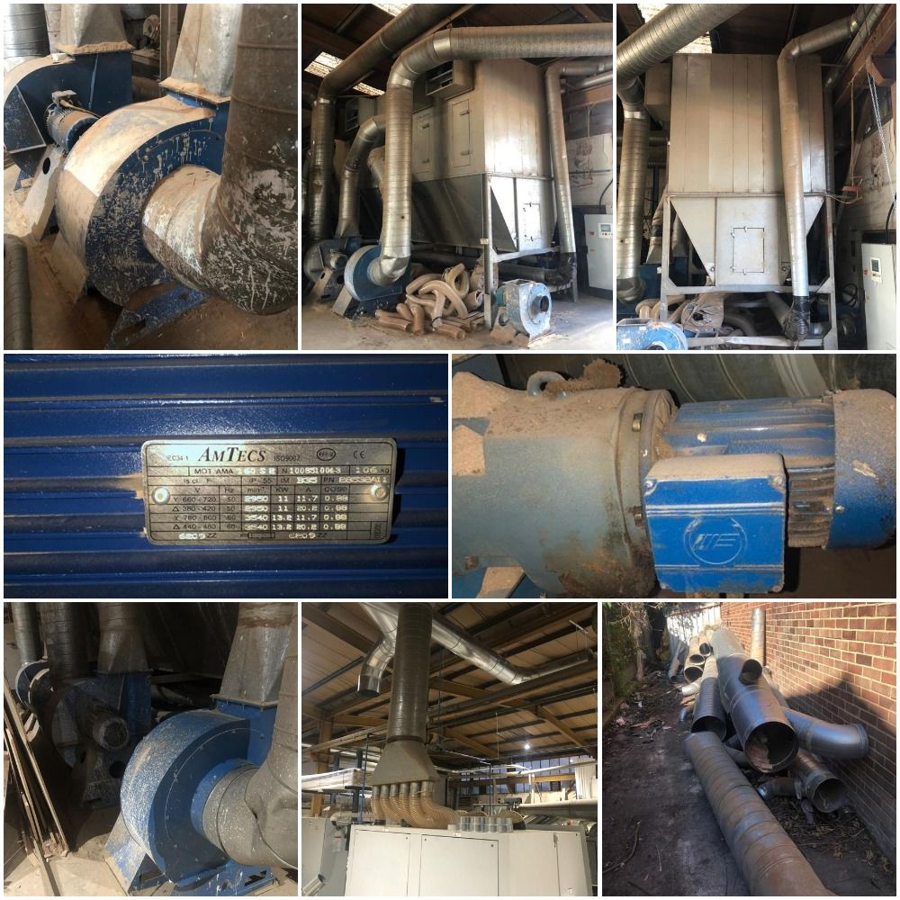 High Capacity Fully Operational Chain Filter Extraction Plant