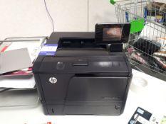 HP LaserJet Pro 400 printer