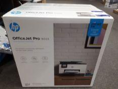 HP Officejet Pro 9025 printer, boxed