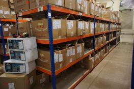 4 x Bays of Rapid Racking UA84 boltless shelving *Delayed collection, arrangements to be made with