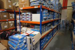 3 x Bays of Rapid Racking UA84 boltless shelving *Delayed collection, arrangements to be made with
