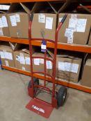 Unbadged sack trolley