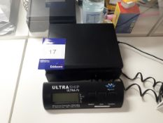 UltraShip Ultra-75 weighing scales, 34KG capacity