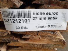 27mm European Oak - Antique grade