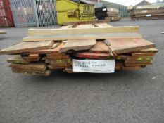 22mm Yew wood natural edge boards,