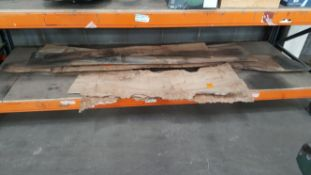 3 Burr Elm Air-dried boards at 1/2inch thick. Approx 13 inch wide.