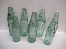 7x Grimsby R. Cook Codd bottles (5x 10oz, 2x 8oz)