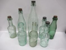 8x Cleethopres W.Conway bottles (1x coloured)