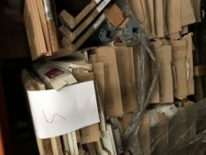 Doors legs and units (pallet 5) (viewing and collection from Unit B, Scotch Park Trading Estate,