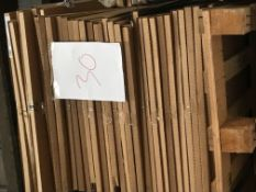 End Panels (Pallet 30) (viewing and collection from Unit B, Scotch Park Trading Estate, Forge