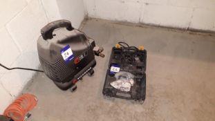 Richmond 6Ltr Air Compressor 5.7CFM and a GMC KAT1