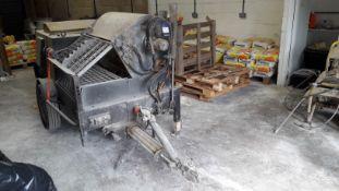 Bunker Spritz 28 S28HYSW TEK.SP.ED 750kg Screed Pu