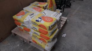 Approx. 21 x 25kg Bags of Beige Webber and Parex O