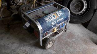 Boxxer 3000 Petrol Generator 3.0 KVA 3000 Watt (20