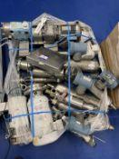 1 x Pallet of pumps, valves and flowmeters. 4 x Cherry Burrel pump, 8 Micro Motion Valves with 4 me