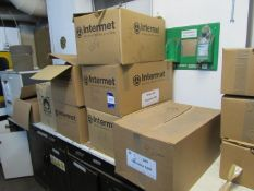 Approx. 15 Boxes of Various Internet Refractories Bimex 369 Feeder Sleeves