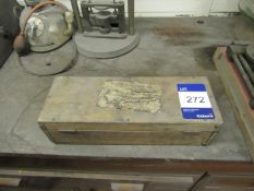 R B Tennent Various Weights in wood box
