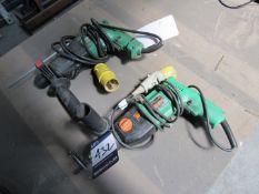Hitachi DH24F3 Hammer Drill and Hitachi DV20T Hammer Drill