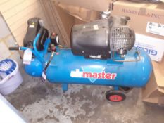 Airmaster Tiger 14/100 Turbo Receiver Mounted Mobile Compressor