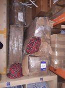 6 Boxes of Tartan Trilbys
