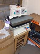 Global The Magic Touch Bac 20 Transfer Heat Press Serial Number 9199 10T (Nov 2010)